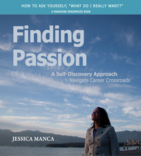 Upcoming Book - Finding Passion to help professionals find fulfillment in their careers